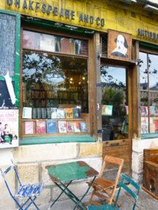Boekhandel-in-Parijs