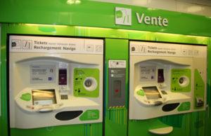 Parijs-ticketmachine, koop hier kaartjes voor het openbaar vervoer in Parijs