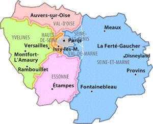Parijs_regio's