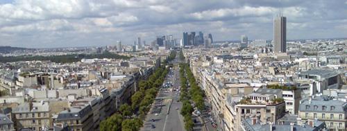 Parijs_uitzicht-van-arc-de-triomph