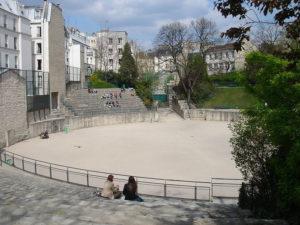 Arenes de lutece-Parijs