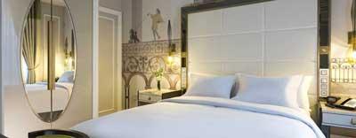Chique hotel in Parijs