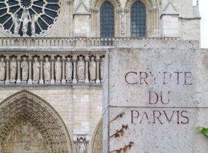 Crypte, musea in Parijs