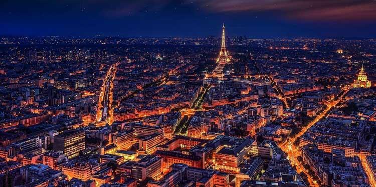 Nachttour in Parijs