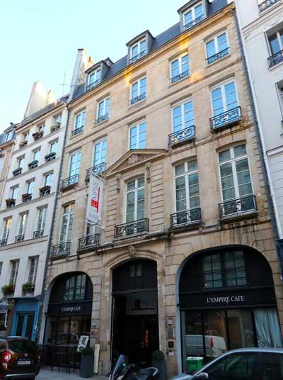 Goed hotel midden in Parijs