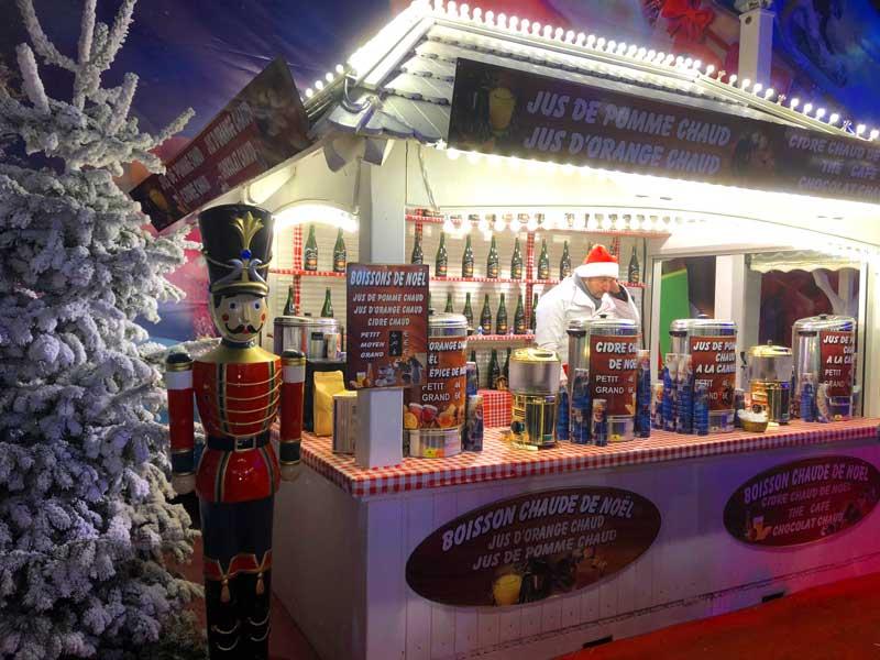 Kerstmarkt Parijs Jardin des Tuileries