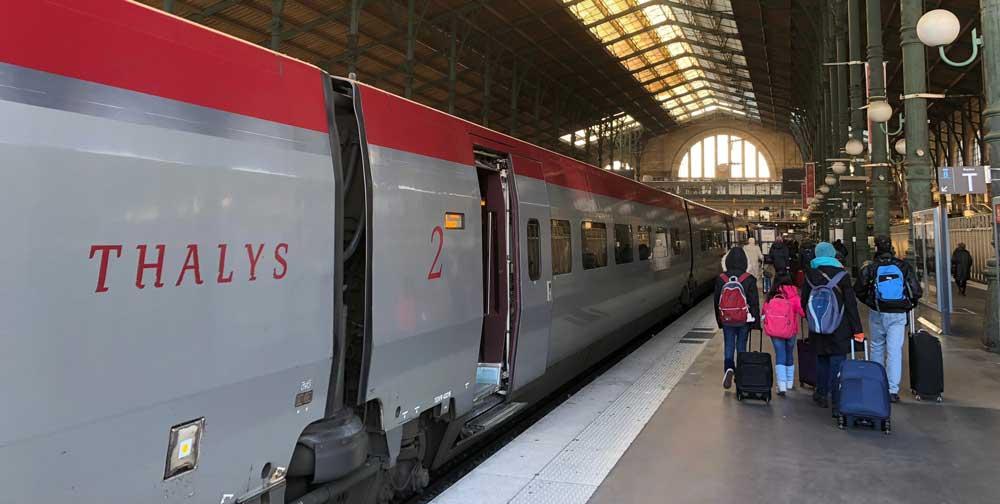 Met de Thalys naar Parijs, onze ervaring.