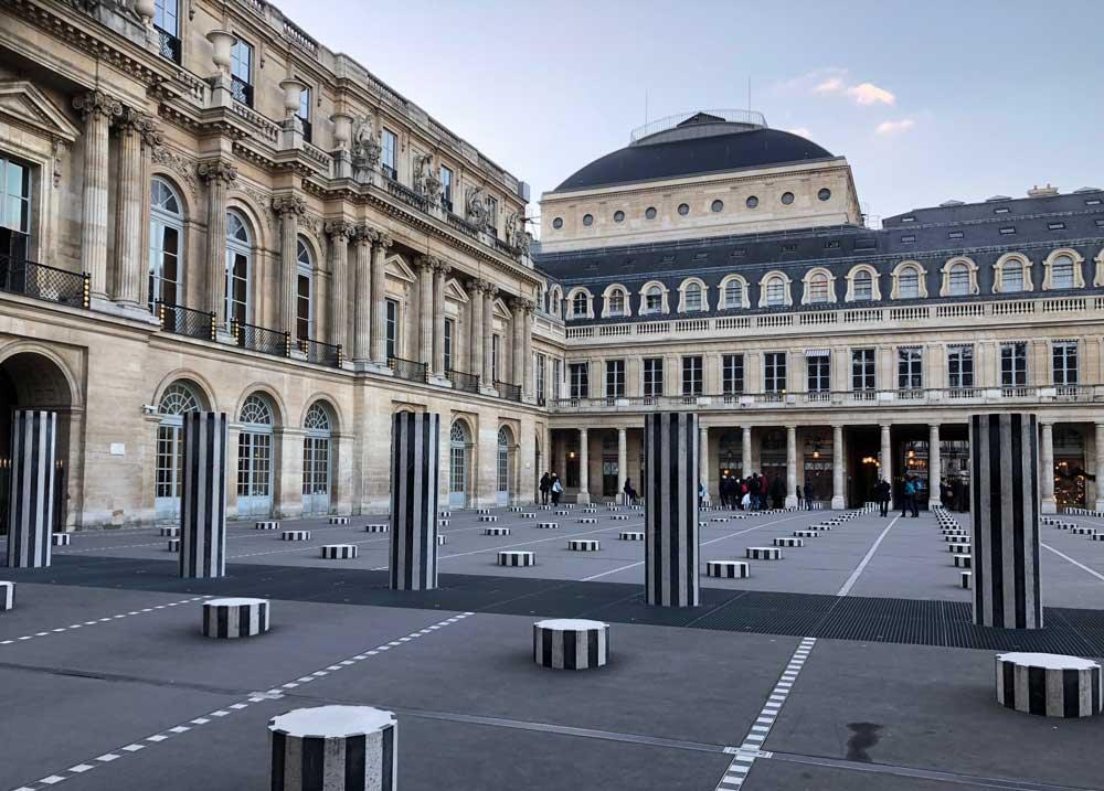 Palais Royal in Parijs, leuk om even foto's te maken.