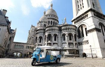 Stadstour door Parijs