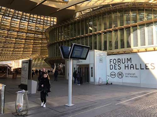 Winkelen in Parijs, Forum des Halles