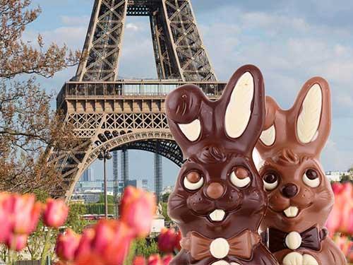Pasen in Parijs