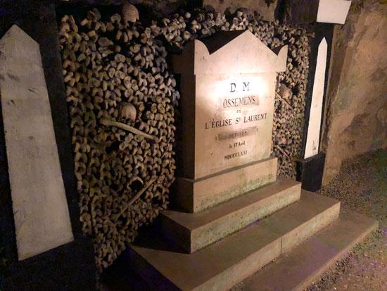 Persoonlijke begraafplaats in de Catacomben