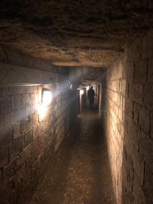 Gangen van de tunnels