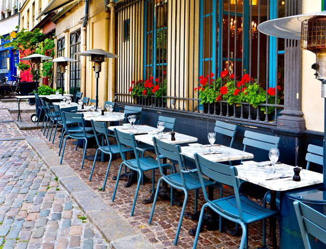 Vegetarische tour Parijs